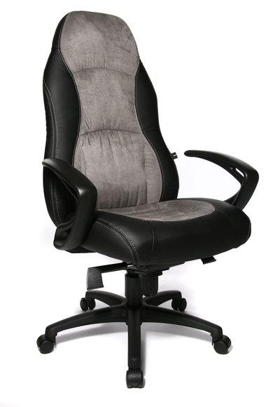 Topstar Burostuhl Speed Chair Grau Schwarz Qualitativ Hochwertig