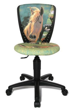 Topstar Kinderdrehstuhl S´cool 3 / Motiv Pferd / Horse